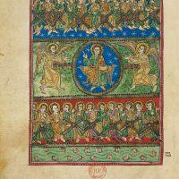 f. 53v, Vision of God in the Sky