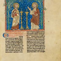 f. 105r, The two witnesses