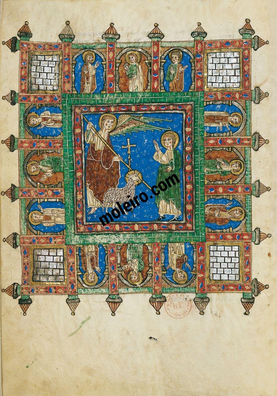 Arroyo Beatus f. 161v, The new Jerusalem