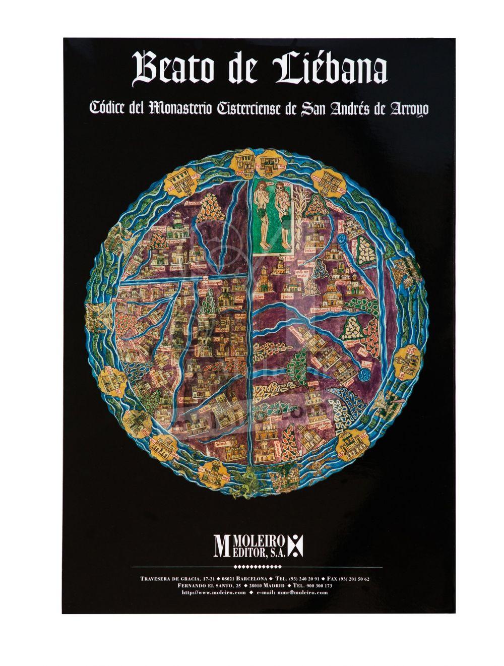 Carpeta de 12 pósters del Beato de Liébana, códice de San Andrés de Arroyo Portada de la carpeta con 12 posters del Beato de Liébana, códice de San Andrés de Arroyo