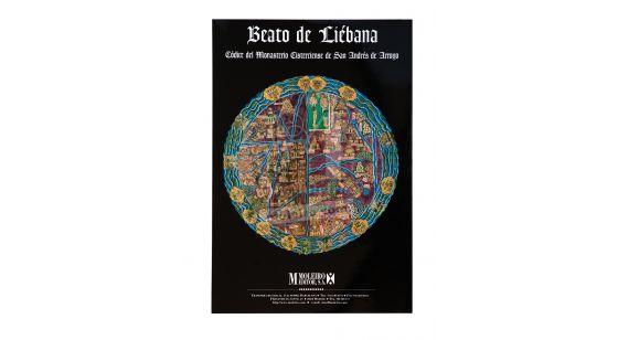 Pasta de 12 posters do Beato de Liébana, códice de San Andrés de Arroyo