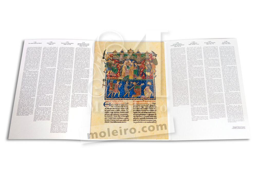 Cartella di 12 poster del Beato di Liebana, codice di San Andrés di Arroyo.
