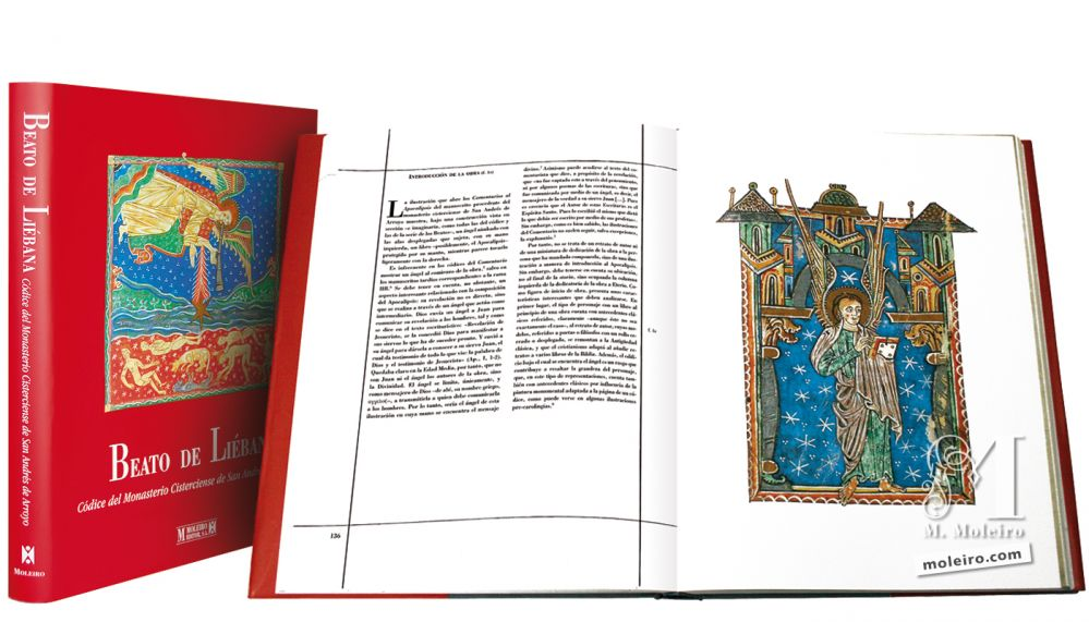 Beato de Liébana, códice del Monasterio Cisterciense de San Andrés de Arroyo, Palencia