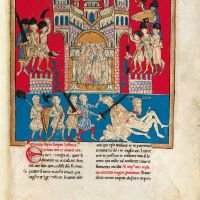 f. 106r, The Antichrist kills the two witnesses