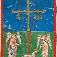 f. 1B, Oviedo cross
