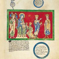 f. 2C, Anunciación/Epifanía