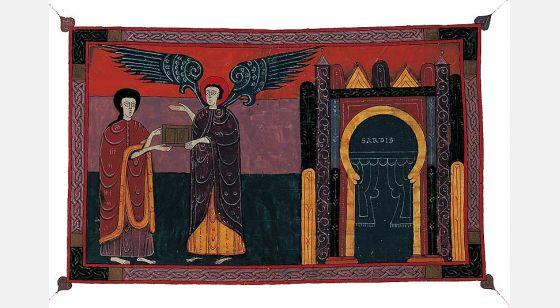 Beato de Fernando I y Sancha Ángel de la iglesia de Sardes