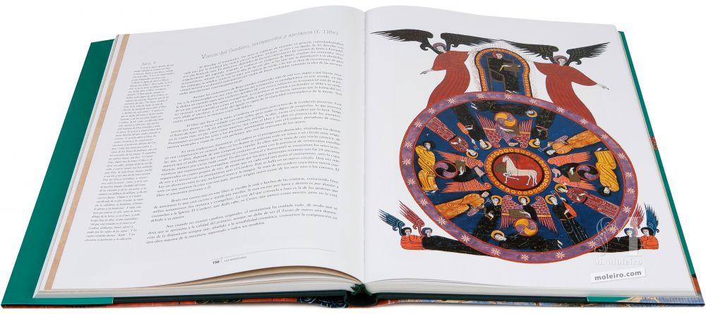 Beato de Fernando I y Sancha Seres descritos en las visiones de Isaías y Ezequiel: tetramorfos