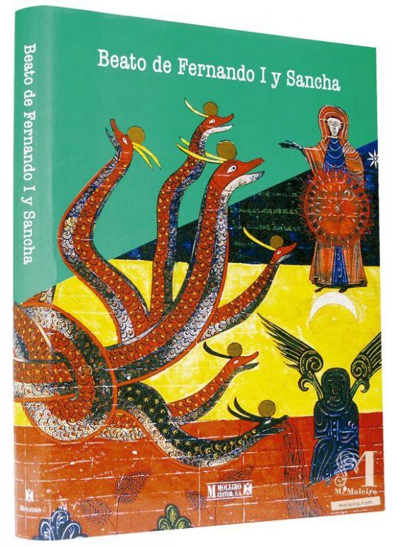 Beato de Fernando I y Sancha Detalle de la portada y lomo del libro de arte del Beato de Fernando I y Sancha