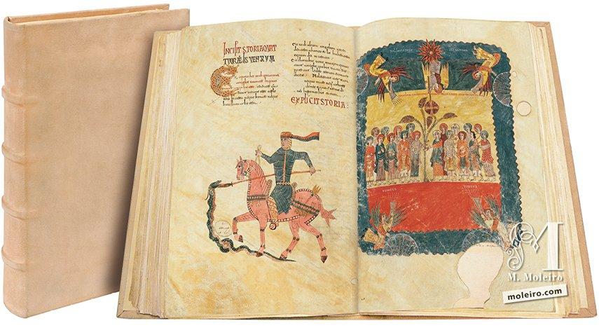 Beato de Liébana, códice del Monasterio de San Salvador de Tábara, Zamora Catedral de Girona Catedral de Girona
