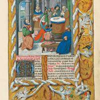 f. 37r, Circumcision of Christ