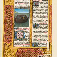 f. 65v, El Arca de Noé