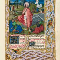 f. 211r, Resurrección de Cristo