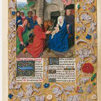 f. 41r, Adoración de los Magos