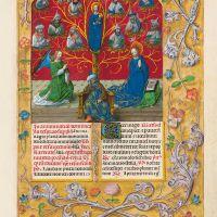 f. 354r, El árbol de Jesé