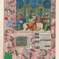 f. 146v, David y los cantores del Templo