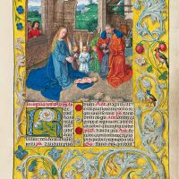 f. 28r, La Nativité