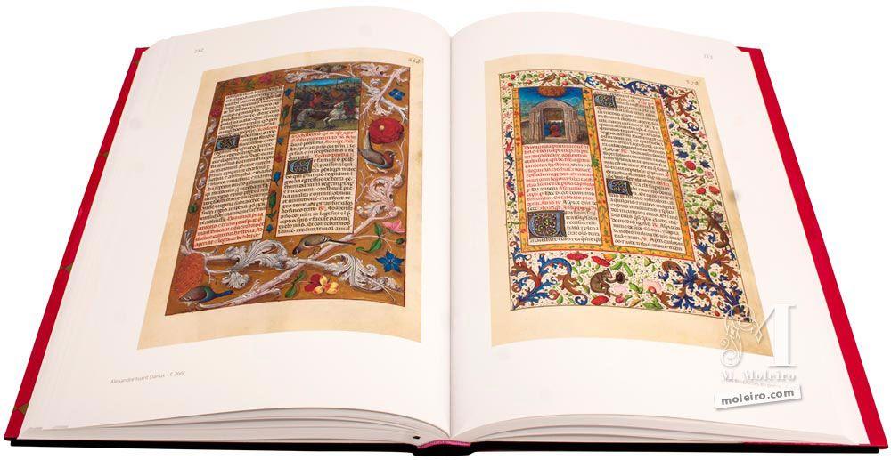 Breviario de Isabel la Católica Alejandro da muerte a Darío y Los profetas rezan a Dios