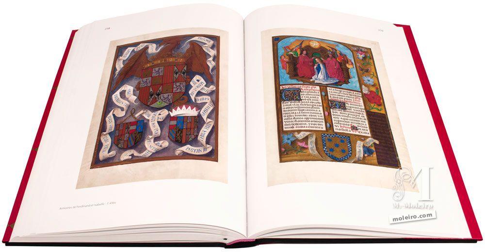 Breviario de Isabel la Católica Armas de Fernando e Isabel y Coronación de la Virgen