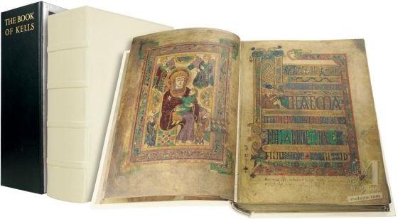 El Libro de Kells (Book of Kells)