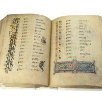 ff. 201v-202 · Lucas; Genealogía de Cristo