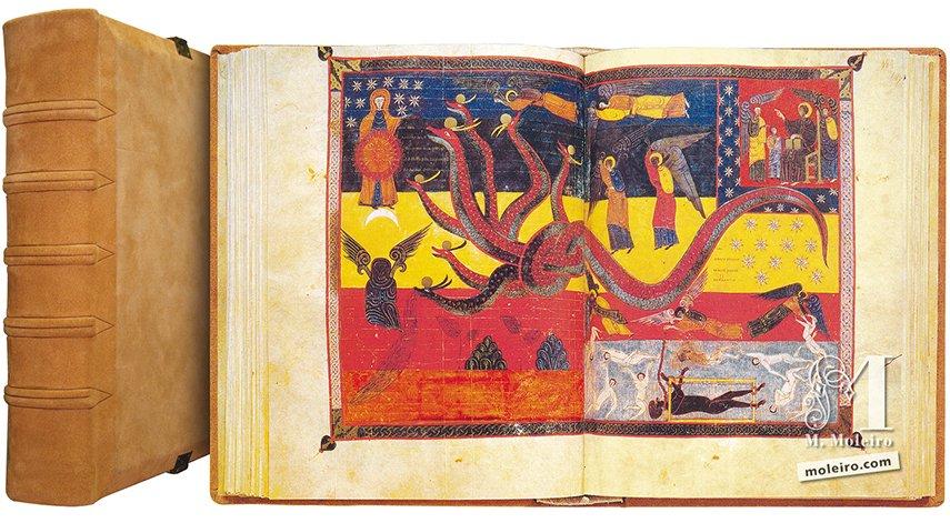 Beato de Liébana, códice de Fernando I y doña Sancha Biblioteca Nacional, Madrid Biblioteca Nacional, Madrid