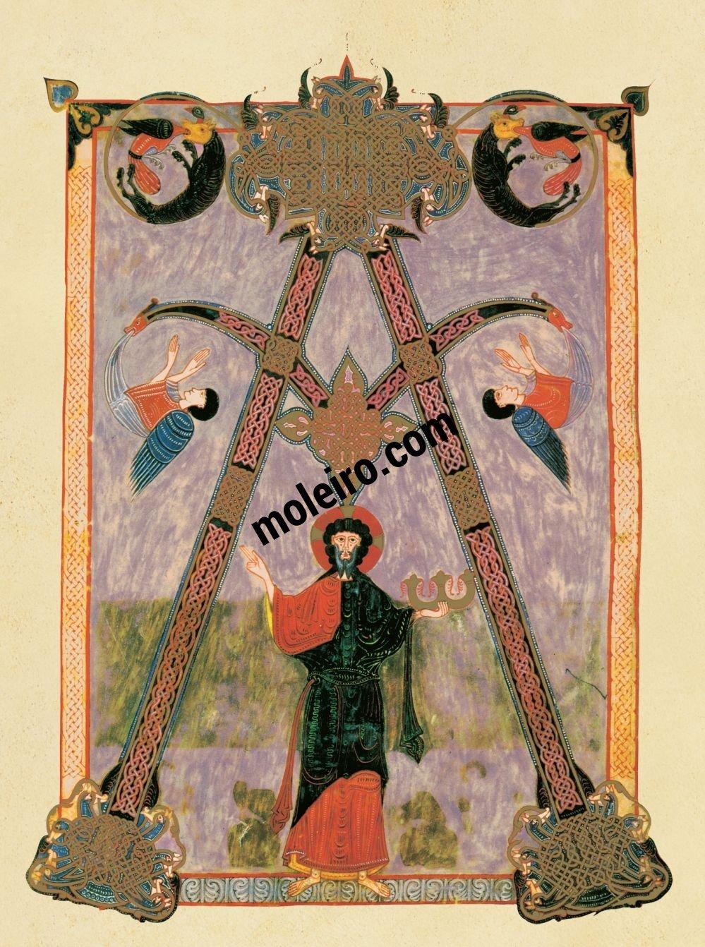 Beato de Liébana, códice de Fernando I y doña Sancha f. 6, Alfa