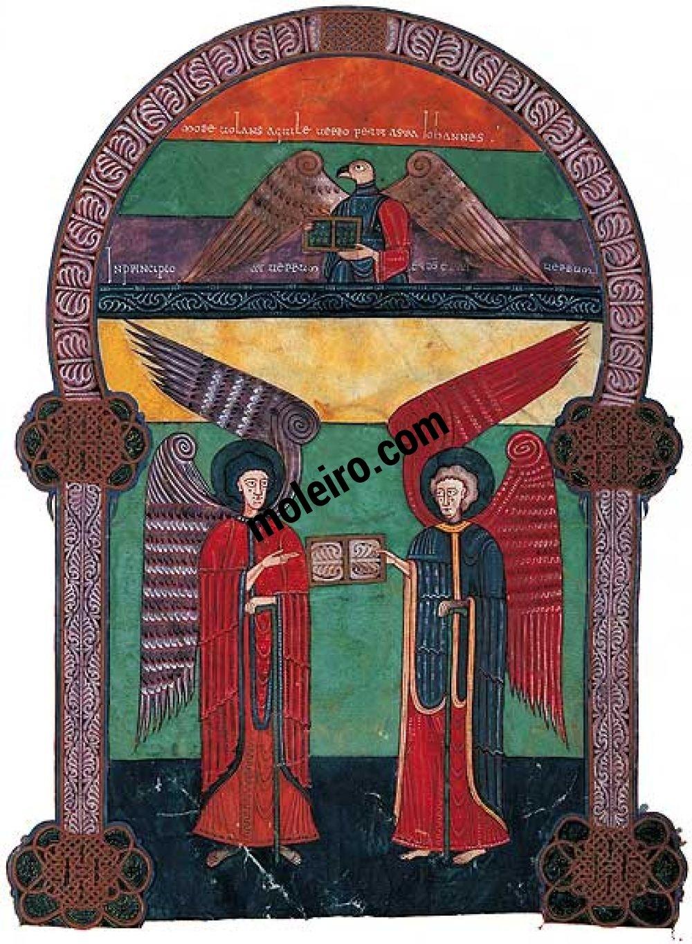 The Facundus Beatus f. 10r