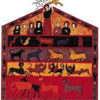 f. 109, Die Arche Noah