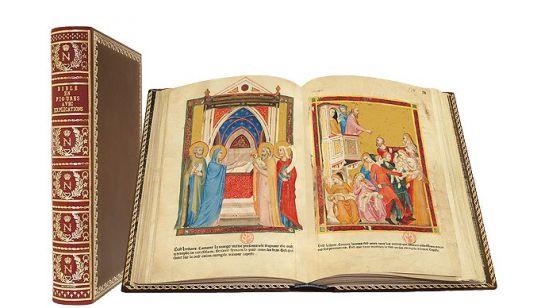 Морализованная Неаполитанская Библия
