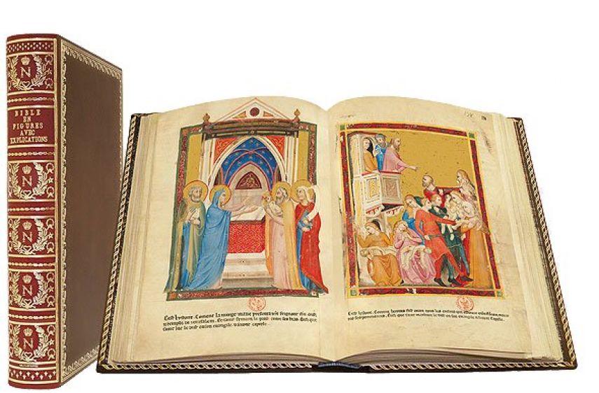 Bible moralisée of Naples Bibliothèque nationale de France, Paris Bibliothèque nationale de France, Paris