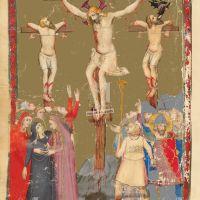 f. 177v: la Crucifixión