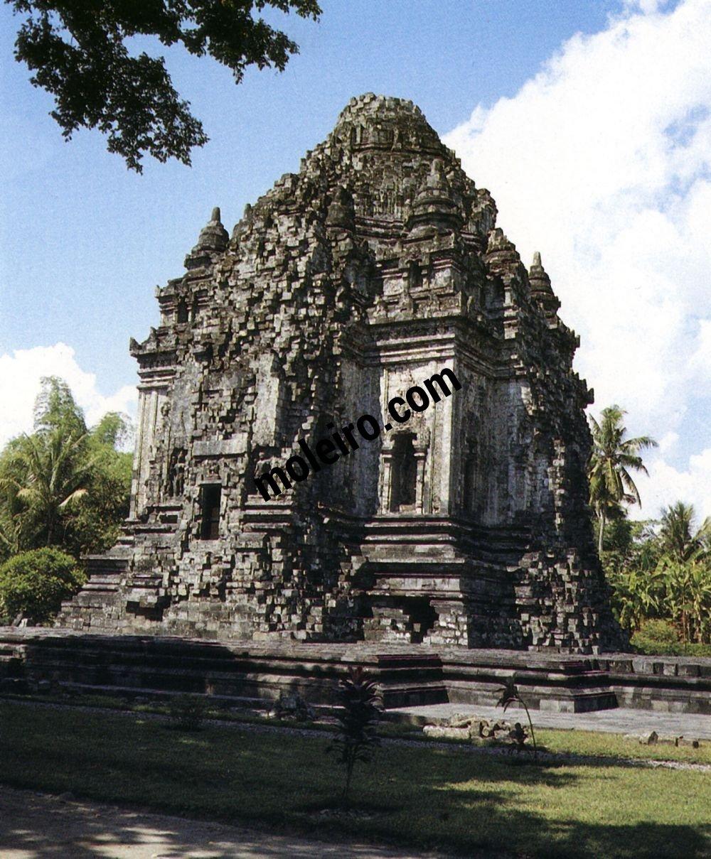 Borobudur ChandiKalasan, at Prambanan. Great Buddhist shrine. VIII-IX centuries.