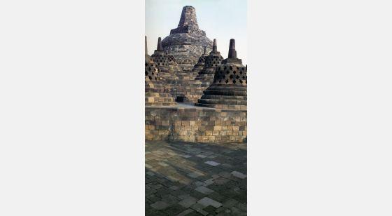 Borobudur Borobudur. Stûpa terminal.