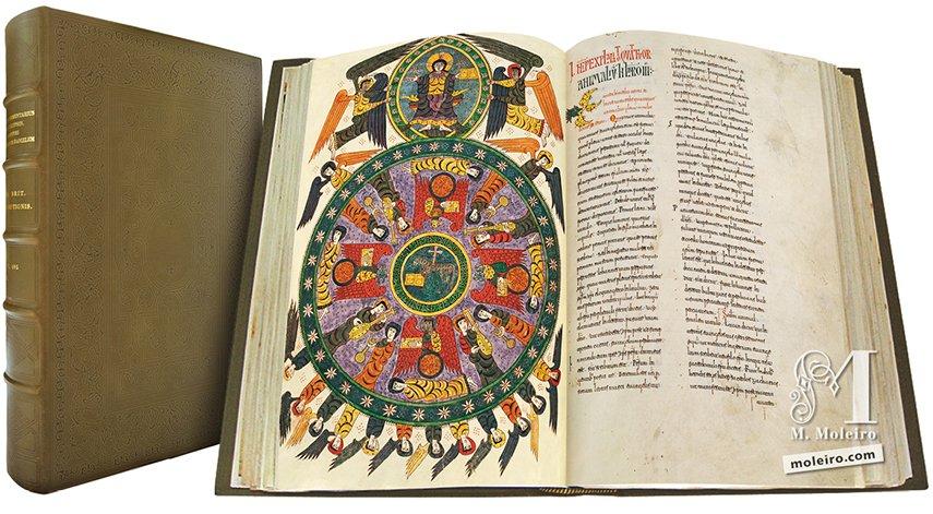 Beato de Liébana, códice del Monasterio de Santo Domingo de Silos, Burgos The British Library, Londres The British Library, Londres