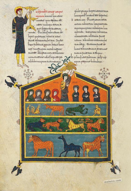 Beato di Silos L'Arca di Noè, c. 79v