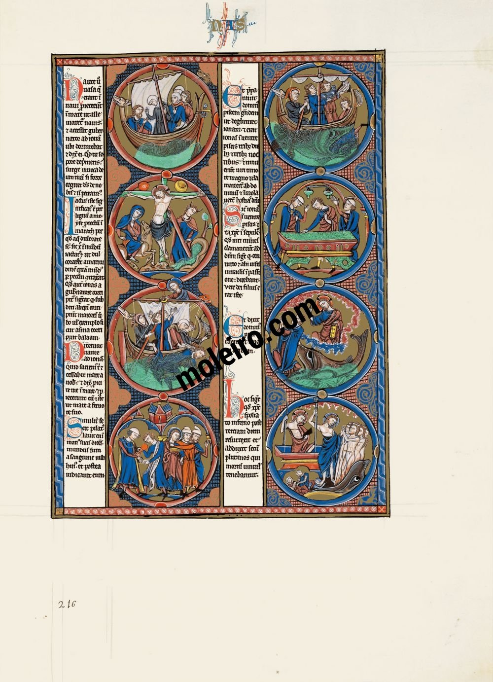 The Bible of St Louis vol.2, f. 216r