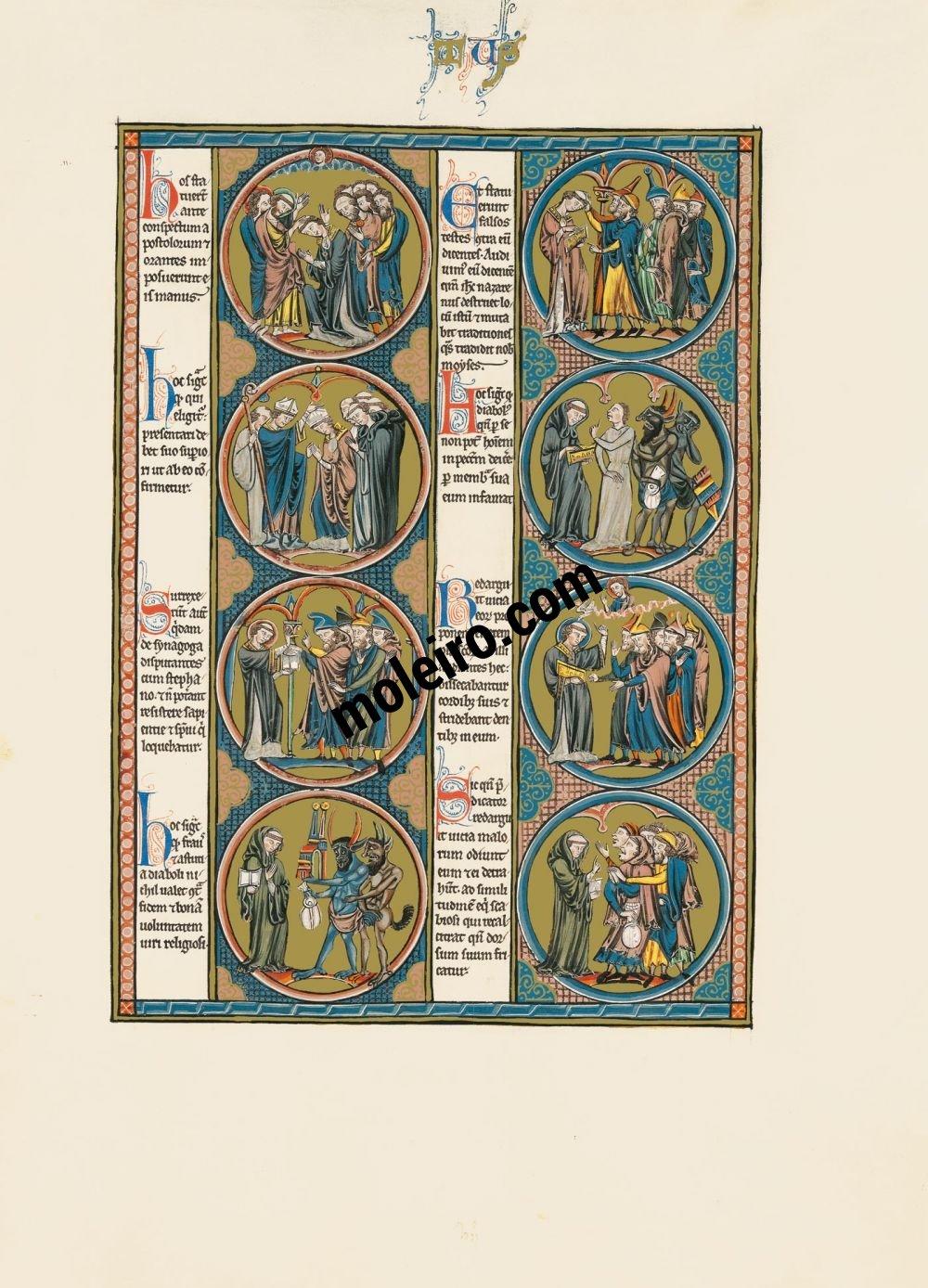 La Bible de Saint Louis vol.3, f. 90r
