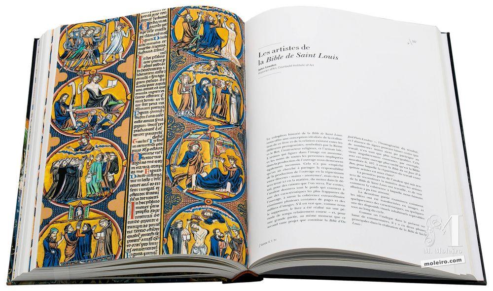 Bible de Saint Louis Les artistes de la Bible de Saint Louis