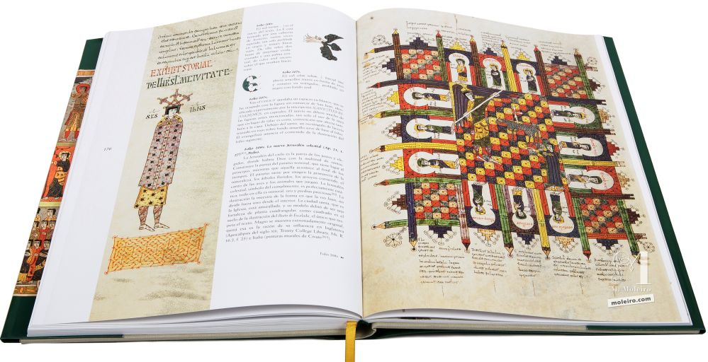 Beato de Liébana, códice del Monasterio de Santo Domingo de Silos, Burgos La nueva Jerusalén celestial