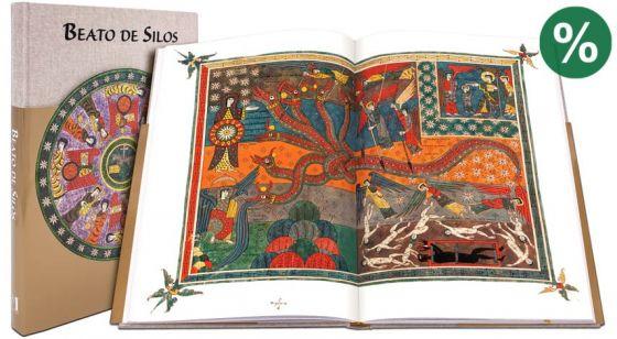Beato de Silos 2ª Edición, contiene todas las miniaturas del Beato de Liébana, Códice de Silos
