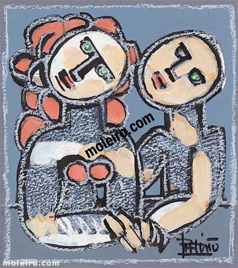 Cantigas de Amigo XVI- O MEU AMIGO, QUE MI DIZIA - Pai Soarez de Taveiros