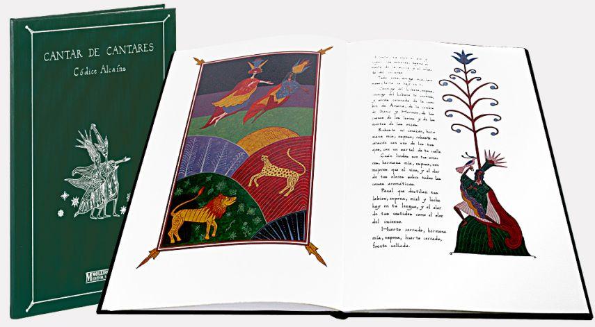 Cantique de Cantiques Codex Alcaíns
