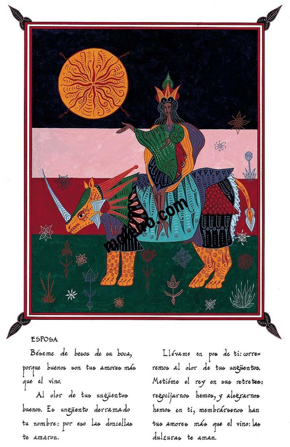 Cantar de Cantares/ Ed. de lujo (negro)