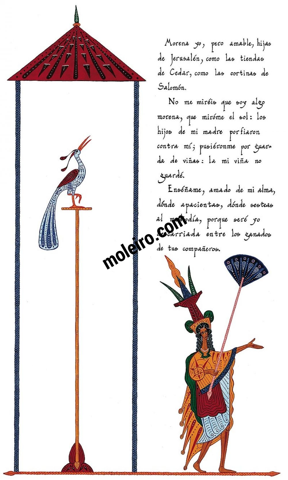 Cantar de Cantares – Luxury edition (red)