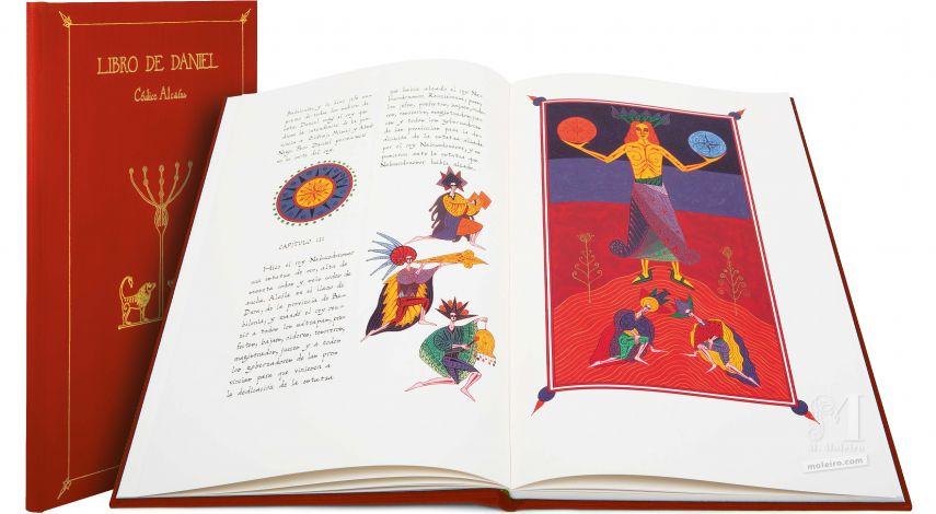 Libro di Daniel – Edizione di lusso (rosso) Códice Alcaíns