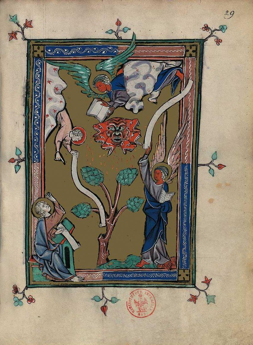 Carpeta con 5 láminas del Apocalipsis 1313 2 láminas casi-originales