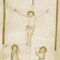 Crucifixion with the Virgin and St Francis of Assissi