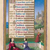 The Calendar: April, f. 7r