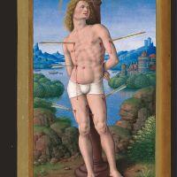 f. 175v, Saint Sébastien